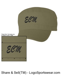 Econscious Organic Cotton Corps Hat Design Zoom