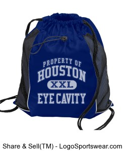 "Eye Cavity ""Candy Bag"" BackPack Design Zoom"